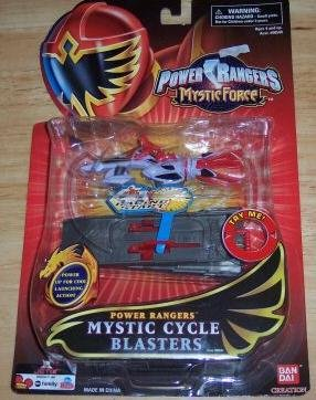 Power Rangers Mystic Force - Mystic Cycle Blasters - Red - 1
