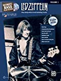 Ultimate Bass Play-Along Led Zeppelin, Vol 1: Play Along with 8 Great-Sounding Tracks (Authentic Bass TAB), Book & 2 CDs (Ultimate Play-Along)