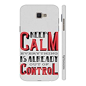 Enthopia Designer Hardshell Case Out Of Control Back Cover for Samsung Galaxy J7 Prime SM-G610F