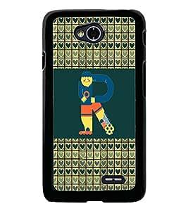 PrintDhaba LGL70bet R D-4649 Back Case Cover for LG L70 (Multi-Coloured)