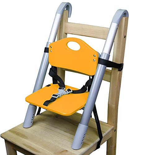 Why Choose Booster Seat - Svan Lyft High Chair Booster Seat - Adjusts Easily to Most Chairs - Orange...