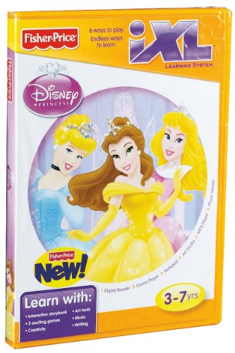 Fisher-Price iXL Learning System Software Disney Princess