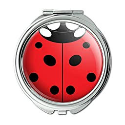 Lady Bug Ladybug Insect Compact Purse Mirror