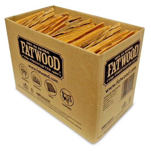 Buy Cheap Fatwood Firestarter 9925 0.63 Cubic Feet Fatwood for Fireplace in Bulk Box, 25-Pound
