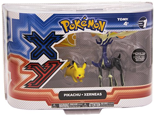 Pokemon X & Y: Pikachu & Yveltal Action Figure 2-Pack