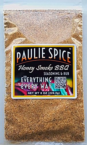 Honey Smoke Sweet BBQ Seasoning And Rub : Amazing On Ribs, Pork, Wings, Chicken, Prime Rib, Steak And Fish : 8 Oz.