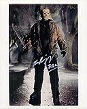 Signed Kirzinger, Ken (Freddy Vs. Jason) 8x10 Photo autographed