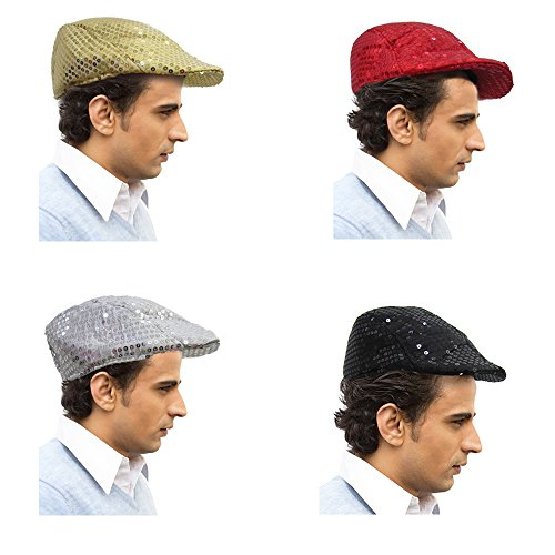 Newsboy Flat Cap Cabbi Hat