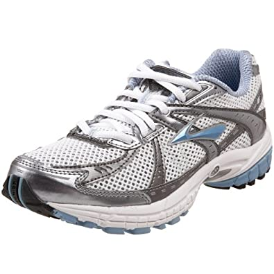 Brooks Women's Adrenaline GTS 10  Running Shoe,Chanbray/Midnight Fog/White/Silver,9.5 US B