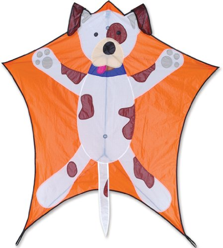 Premier 45973 5-Sided Polygonal Penta Kite with Solid Fiberglass Frame, Bingo