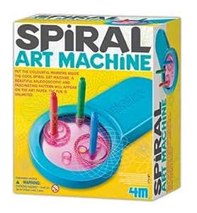 4M Spiral Art Machine Kids Art Toy-Drawing Creative Artist