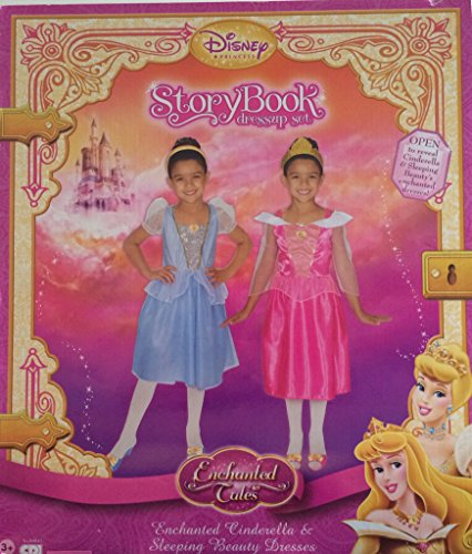Disney Princess Dress Up Set Cinderella & Sleeping Beauty Dresses