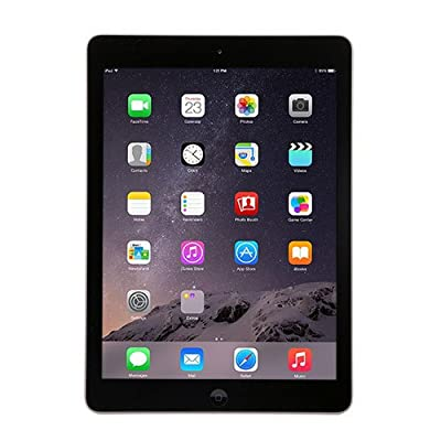Apple iPad Air MD786LL/B touchscreen tablet (iOS 8, 1GB memory, 32GB hard drive, Wi-Fi) Space Gray