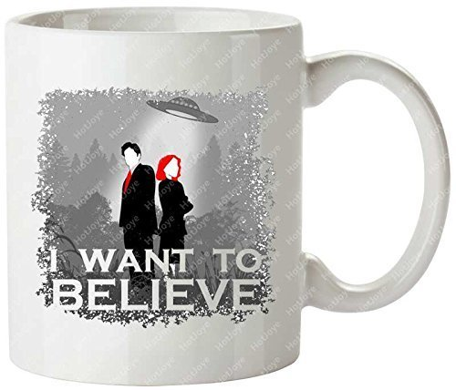 I Want To Believe X Files Revival The Lone Gunmen Cgb Spender X Philes Chris Carter Dana Scully Fox Mulder Tea Cups Mug Cup by Hot Joye