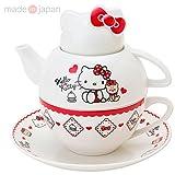 [Hello Kitty] Teapot set 3-set ƒeƒB[ƒtƒH[ƒƒ