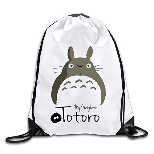 My Neighbor Totoro Forest Sprite Handbags Drawstring Hiking Backpack Customized Bags (Infinite Santa 8000 compare prices)