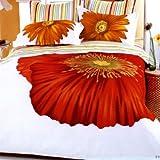 Cicek Duvet Cover Bedding Set Size: Full / Queen