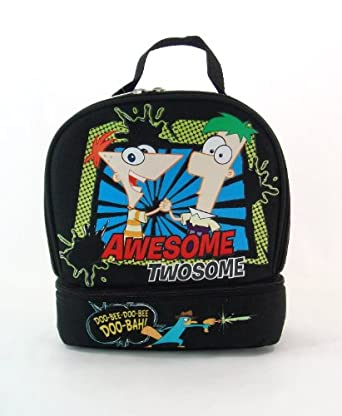 Phineas & Ferb Insulated Lunch Box Awesome Twosome