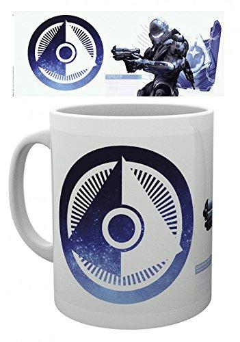 Set: Halo, 5,osiris Tazza Da Caffè Mug (9x8 cm) E 1 Sticker Sorpresa 1art1®