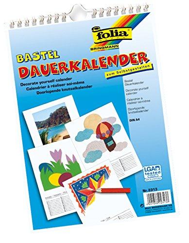 bringmann-2313-bastelkalender-folia-a4-weiss-zum-selbstgestalten