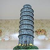 Resin Leaning Tower of Pisa/ Torre pendente di Pisa/ Torre di Pisa Figurine Statue, Large