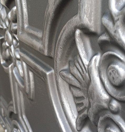 PL16 imitation en dalles de plafond en étain antique Café pub shop Panneaux muraux de décoration 10pieces/lot