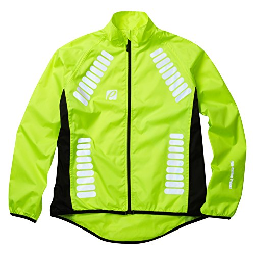 Elite Cycling Project Men's Cyclone Waterproof Cycling Jacket Hi Viz Green M (Bicycle Rain Jacket compare prices)