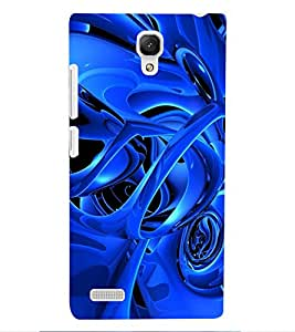 ColourCraft Abstract Image Design Back Case Cover for XIAOMI REDMI NOTE