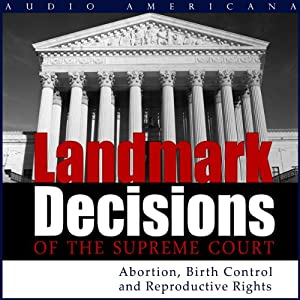 Landmark Decisions of the Supreme Court Audiobook