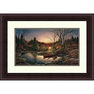 Terry Redlin Framed Art Print Morning Solitude Encore Edition