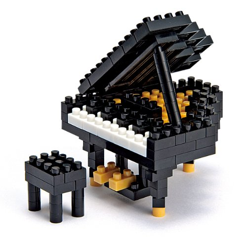 Kawada NBC-017 Nanoblock NBC017 Grand Piano Building Kit
