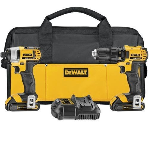 Dewalt-DCK280C2R-Factory-Reconditioned-20V-Drill-Impact-Kit-with-2-Batteries