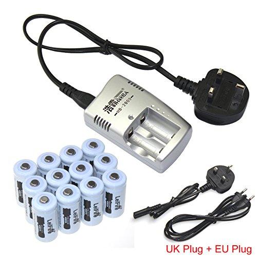12pcs-16340-cr123a-37v-akku-wiederaufladbare-lithium-ion-batterie-ladegerat-fur-led-flashlight-torch