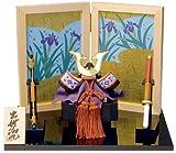 南雲 作 かぶと飾り 「出世兜」 木彫り 五月人形