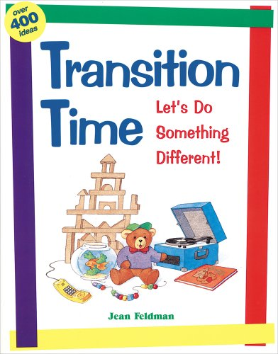 Buy Transition Time Let s Do Something Different087659187X Filter