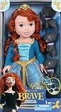 Disney Princess Brave Merida Toddler Doll with Bear Brothers