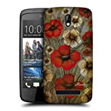 Head Case Designs Anemone Nostalgic Flowers Protective Snap-on Hard Back Case Cover for HTC Desire 500