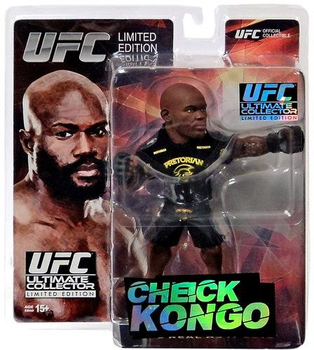 Round 5 UFC Ultimate Collector Series 14 LIMITED EDITION Action Figure Chieck Kongo