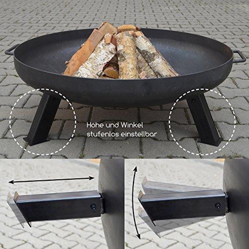 k hko feuerschale 80 cm diy varianten alles zum grillen dein grill shop. Black Bedroom Furniture Sets. Home Design Ideas
