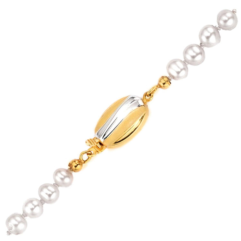Damen Schließe 585 Gold Gelbgold teilrhodiniert teilmattiert bestellen