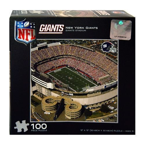 "New York Giants: Giants Stadium 100 Pc Puzzle [12"" X 12""] at Amazon.com"