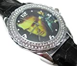 New Fashion WS050 wristwatch Crystal Watch / Elvis Aaron Presley