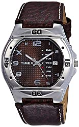 Timex Fashion Analog Brown Dial Mens Watch - EL04