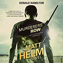 Murderers' Row: The Matt Helm Series, Book 5 (       UNABRIDGED) by Donald Hamilton Narrated by Stefan Rudnicki