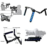 ePhotoinc RL01 DSLR Rig Movie Kit Shoulder Rig Mount Video Camcorder Camera DV DSLR Cameras