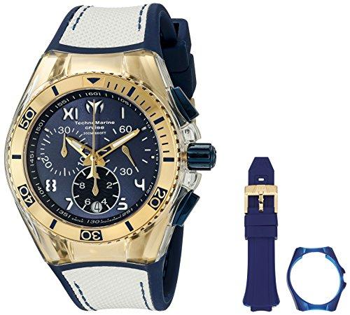 technomarine-unisex-40-mm-armband-silikon-blau-gehause-edelstahl-quarz-analog-zeigt-115018
