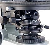 OMAX 50-1000X Digital Infinity Trinocular Polarizing Metallurgical Microscope with Kohler Transmitted and EPI Reflected Illumination System and 5.0MP USB Camera