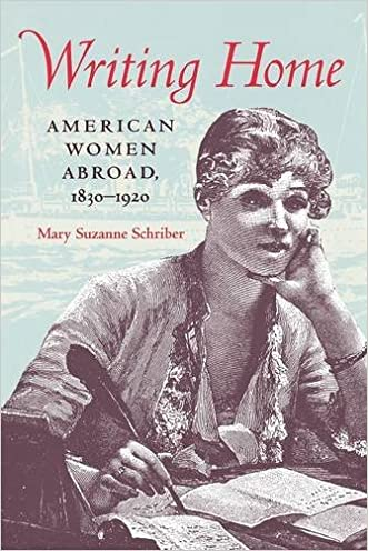 Writing Home: American Women Abroad, 1830-1920