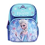 Disney Frozen Princess Elsa Sparkle Backpack, Large 16 School Bag, New Licensed Design