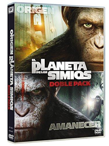 Pack: El Origen Del Planeta De Los Simios + El Amanecer Del Planeta De Los Simios [DVD]